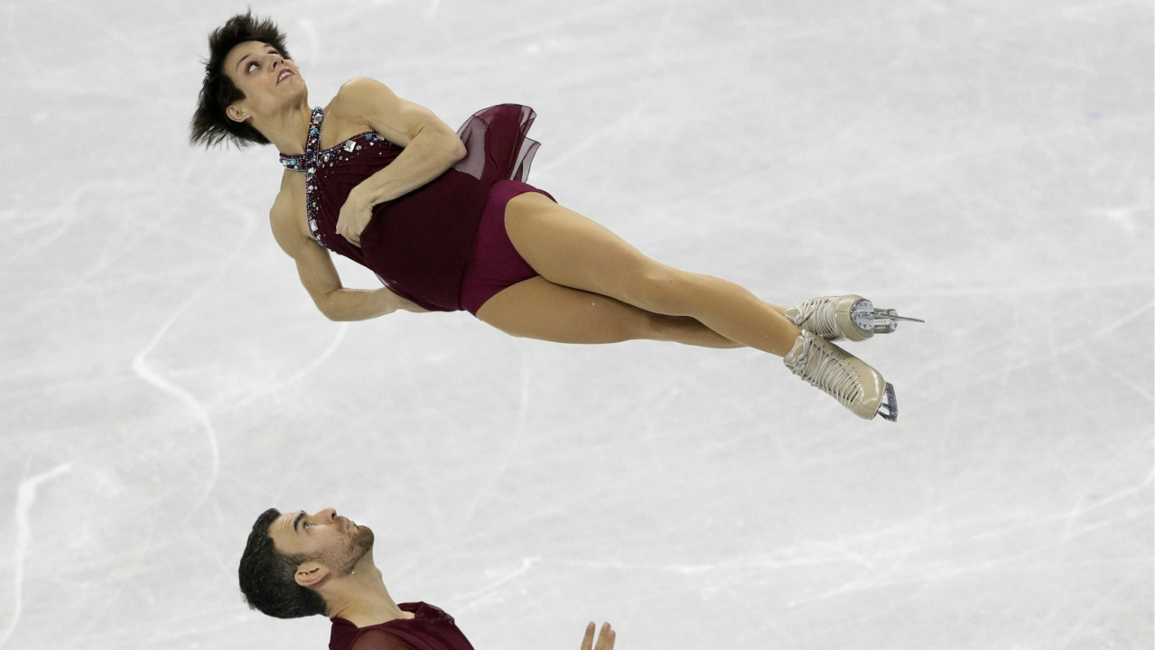 Meagan Duhamel and Eric Radford, of Canada, perform in the pairs free skate figure skating final in the Gangneung Ice Arena at the 2018 Winter Olympics in Gangneung, South. Canada won the most medals in figure skating with four at the 2018 Winter Games. But with pairs bronze medalists Duhamel and Radford, and 10-time national champion Patrick Chan also done, the Canadians will be needed to find a new wave of skaters to keep them on top as they look ahead to the 2022 Games. (PTI)