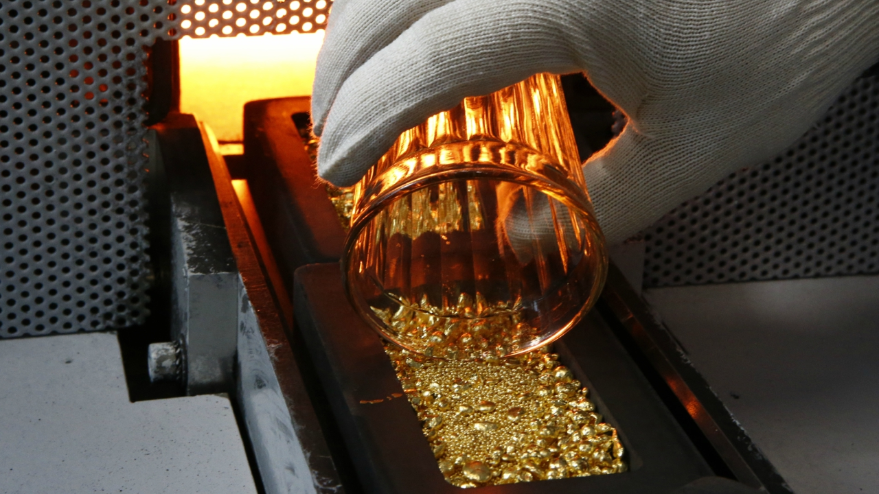 Around 187,200 tonnes of gold has been mined since the beginning of civilisation. (Reuters)