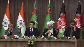 India-bound TAPI gas pipeline breaks ground on Afghan section
