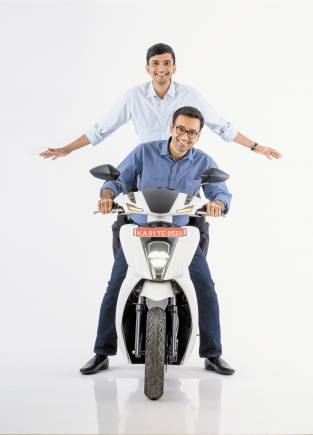Technology | Tarun Mehta (28), Swapnil Jain (28), Co-founders, Ather Energy: The duo has built a close-to-commercial electric scooter called the S340. It will do a top speed of about 70 kmph and have a range of 70-80 km on a single charge.