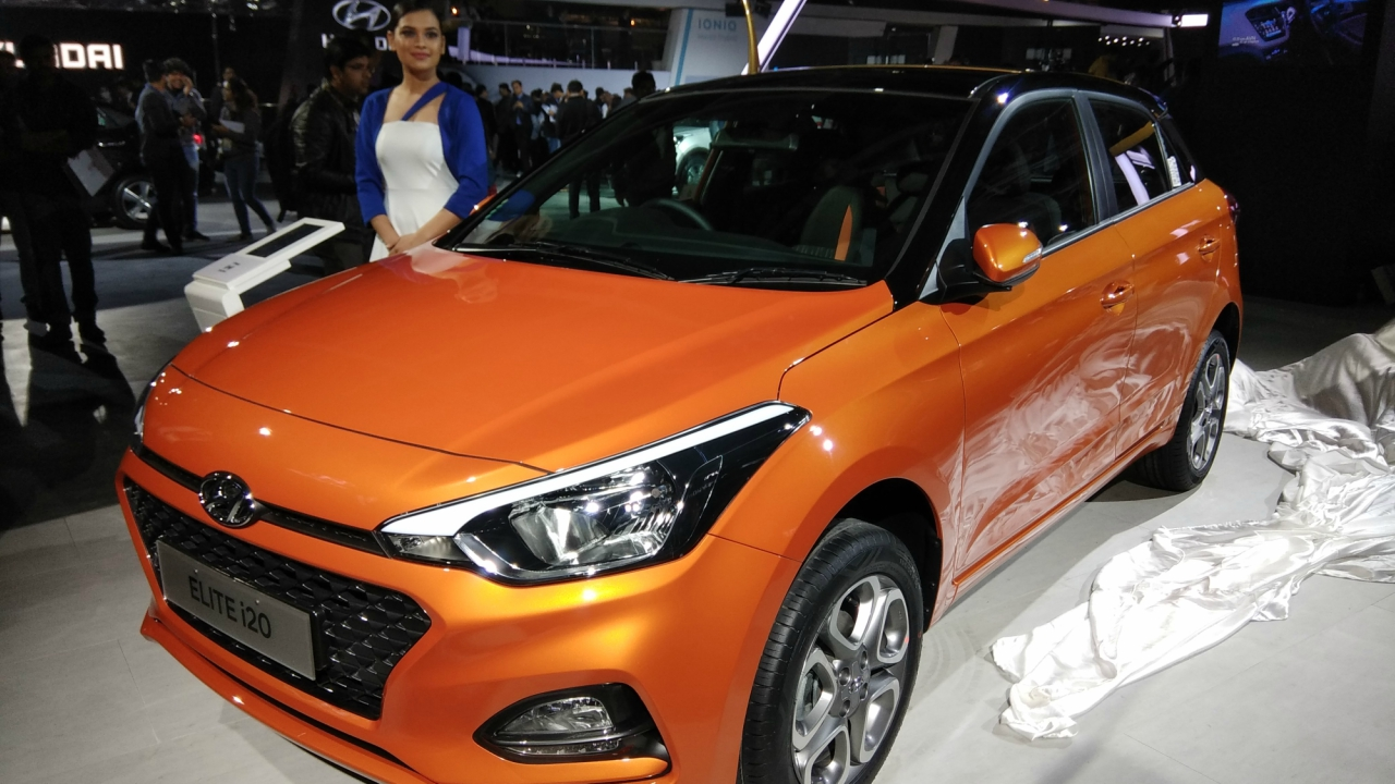 Hyundai Motors, along with Ioniq, unveiled the new Elite i20. The new car features signature grill and cascade design, dual tone interior. (Moneycontrol)