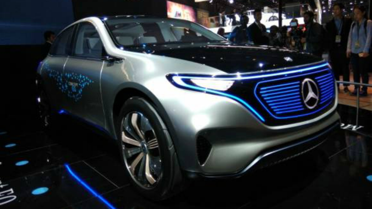 Mercedes-Benz unveiled Concept EQ at the Auto Expo. Concept EQ (referring to electronic quotient) has a range upto 500 kilometres and will be on road before the end of this year. (Moneycontrol)