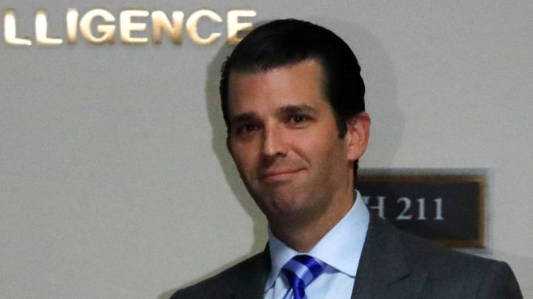 Trump Jr's business trip to India cost US taxpayers nearly $100,000: Report