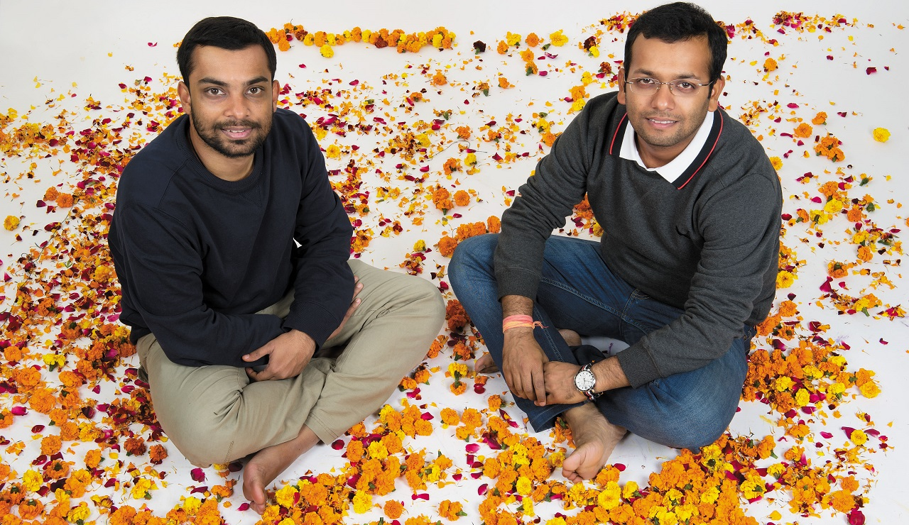 NGOs & Social Entrepreneurship | Ankit Agarwal (28), Karan Rastogi (29), Co-founders, HelpUsGreen: Processing the refuse that people dumped in the Ganga helped them fulfill a dual purpose–clean the river and provide employment to women in different cities.