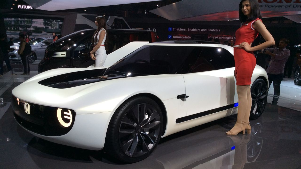 Honda EV sport is a made its debut at the Tokyo Motor Show last year. It is unlikely to go on sale internationally.