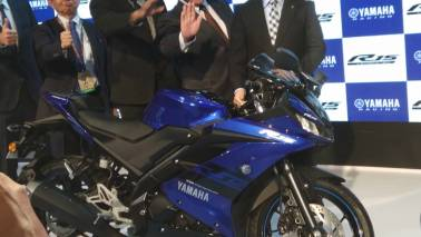 Auto Expo 2018: Yamaha unveils new R15 at Rs 1.25 lakh