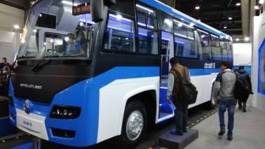 Auto Expo 2018: Ashok Leyland, Sun Mobility unveil electric bus Circuit S