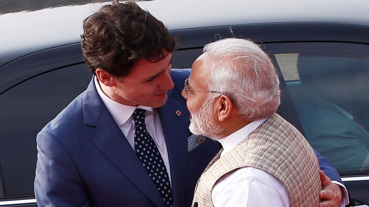 Prime Minister Narendra Modi and his Canadian counterpart Justin Trudeau held extensive talks on key issues of counter-terrorism as well as ways to boost trade ties on Friday. (Reuters)