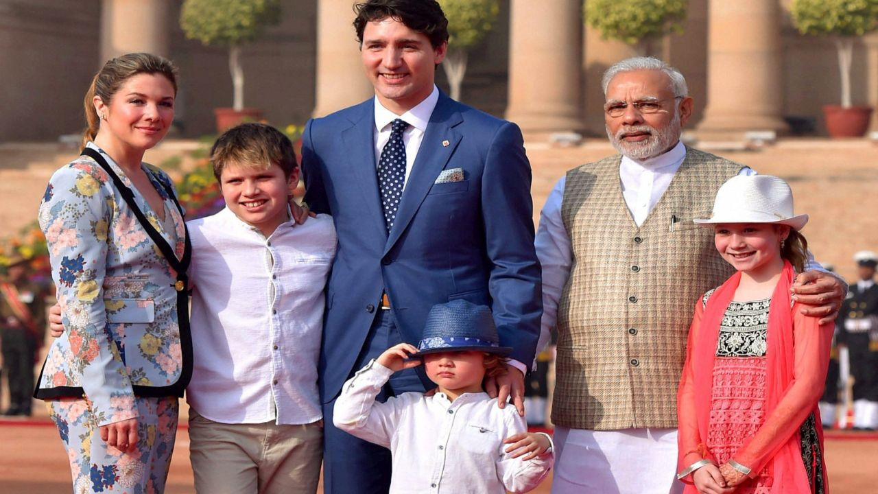 "Earlier, PM Modi had expressed on social media that he was looking forward to meet Trudeau and his children. ""I hope PM @JustinTrudeau and his family had a very enjoyable stay so far. I particularly look forward to meeting his children Xavier, Ella-Grace, and Hadrien."" (Reuters)"