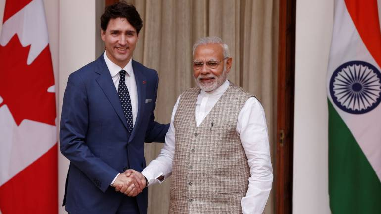 1ad6eaa9ba Canadian PM Justin Trudeau mocks his visit to India, says 'it never  happened'
