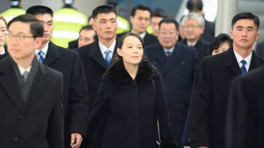 North Korea's political princess heading home after whirlwind visit