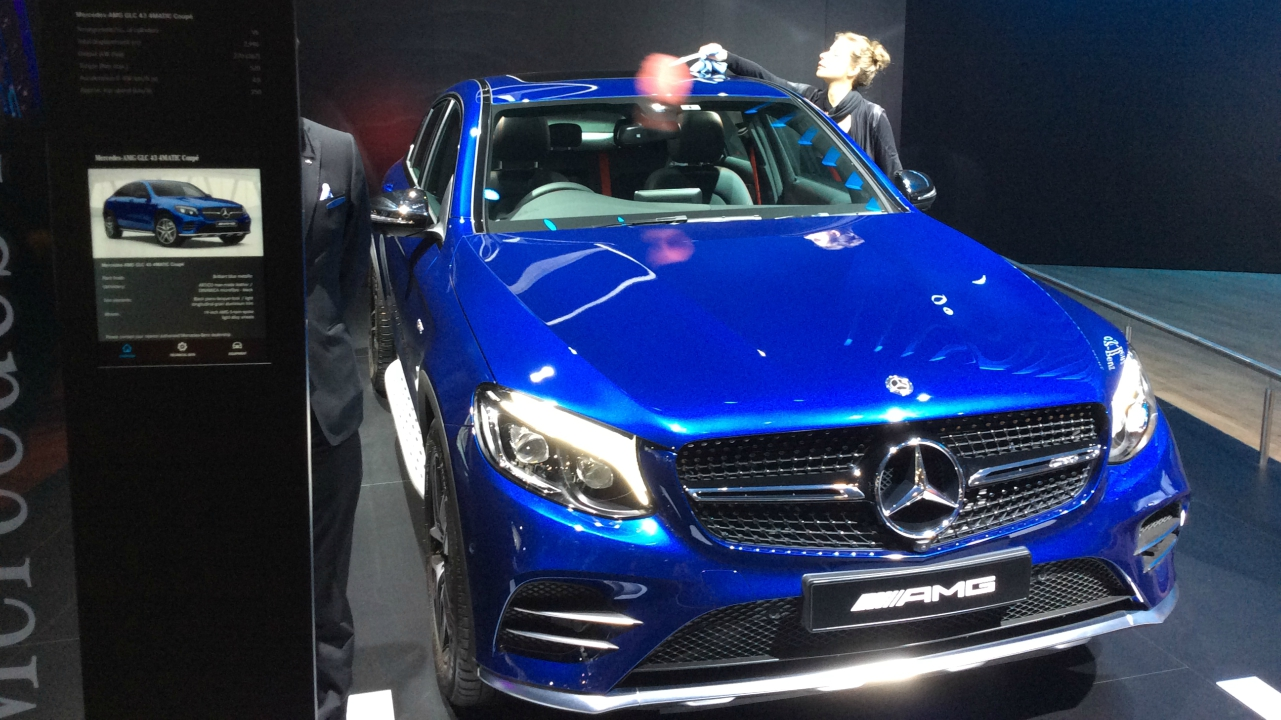 Mercedes AMG GLC 43 4matic is priced at Rs 75 lakh. A 3 litre V6 engine power the car