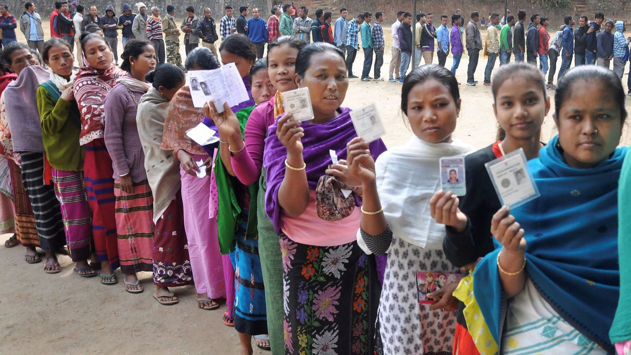 No third-gender voters has been listed in Nagaland. But, the number of first-time voters is 26,900, Assistant Chief Electoral Officer Awa Lorin said. (PTI)