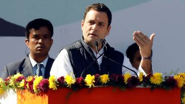 Rahul Gandhi can't speak anywhere for 15 mins without consulting a slip: BJP