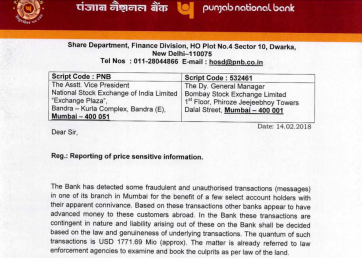 RBI on PNB fraud: Banks warned 17 months ago