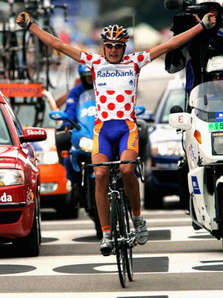 Answer: Polka Dot jersey for King of the Mountains.