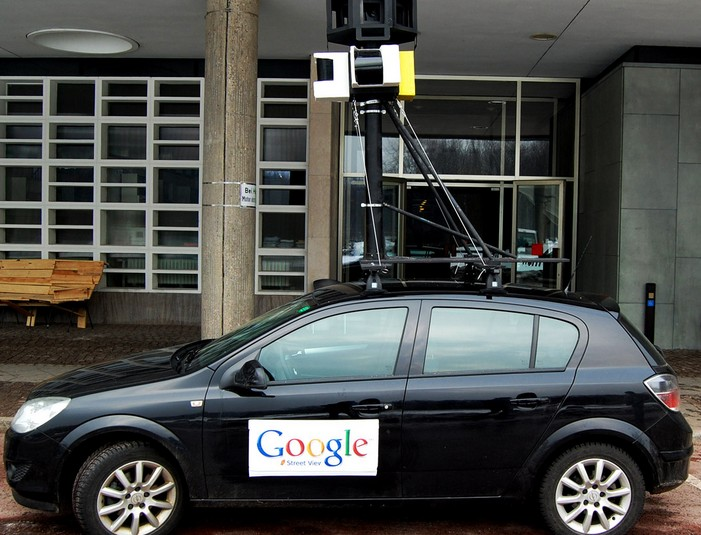 Answer: Google Street View and Mt.Everest.
