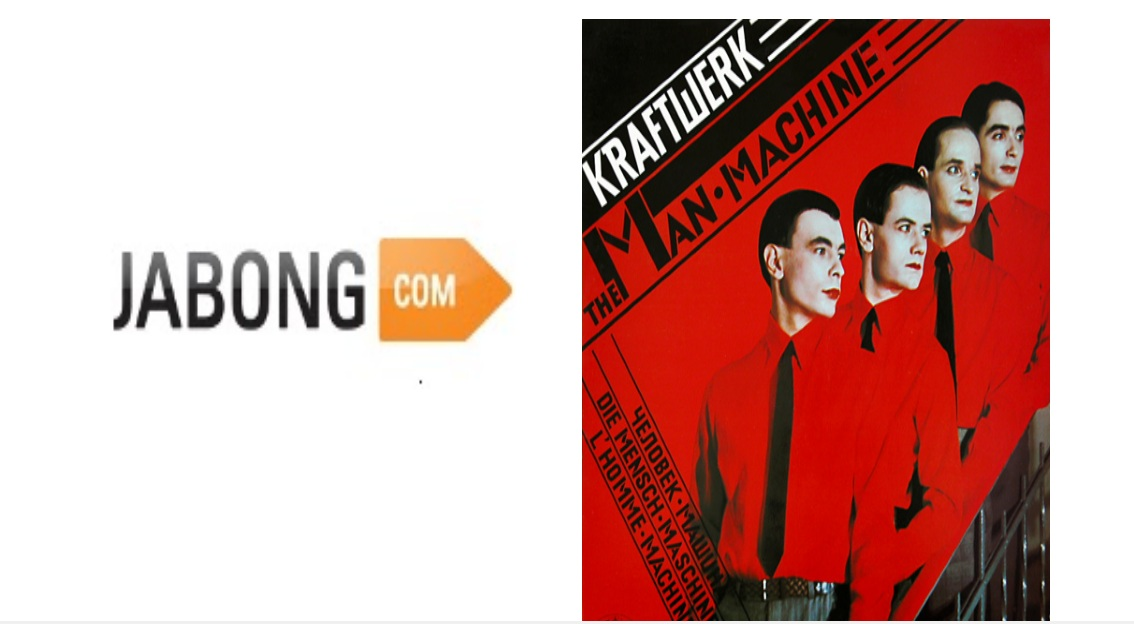 Answer: Jabong.com They identify concepts that are working in the US or Asia and replicate the approach for new markets with high barriers of entry. The sites are then often acquired by the original company (Groupon acquired Citydeal, eBay acquired Alando). They have also invested in German versions of YouTube (MyVideo), Twitter (Frazr) and Facebook (StudiVZ) The image is inspired by the album cover of The Man Machine by Kraftwerk.