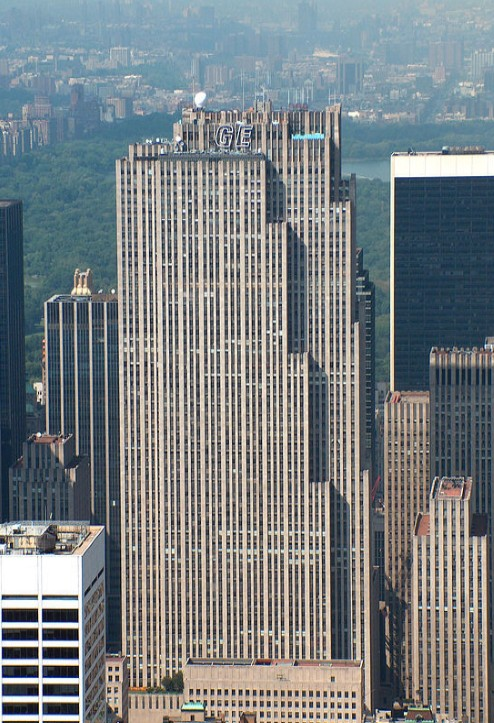 Answer: The picture 'Lunch Atop A Skyscraper' was taken during the construction of the GE Building situated at 30 Rockefeller Center in New York. The show gets its name form the nickname for the building, 30 Rock.