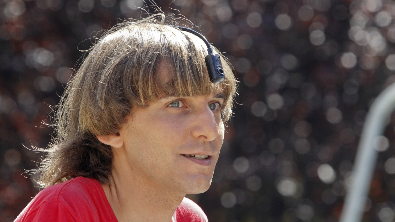Neil Harbisson, a British man who has an antenna protruding from his head, claims to be the world's first official cyborg and the first of many such 'non-humans'. (Reuters)