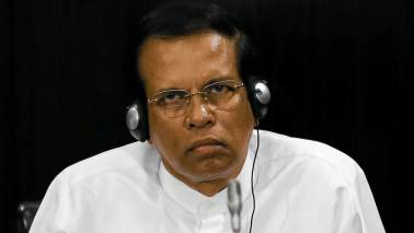 Sri Lankan President Maithripala Sirisena lifts nationwide state of emergency