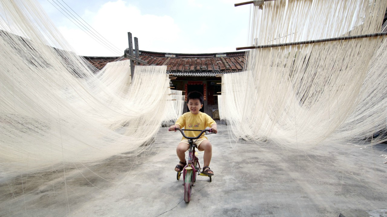 Home-made rice noodles in Changting county, Fujian province | China still finds itself short of grains, soy beans and other commodities. It beat the United States as the largest importer of food grains in 2012. (Reuters)