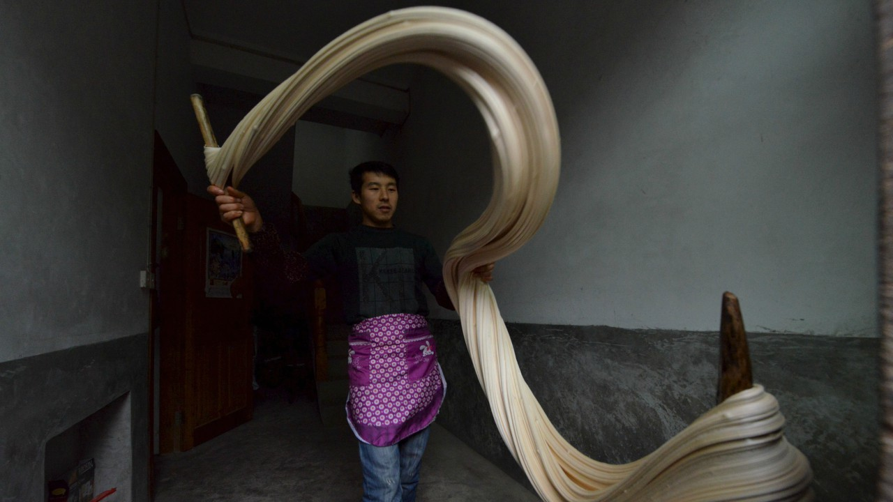 "Preparation of traditional candy ""Matang"" 
