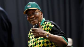 French arms firm Thales to face graft charges in S Africa with Zuma