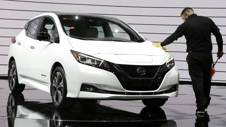 Nissan Motor Co has launched the new version of its all-electric vehicle Leaf in seven markets of the Asia-Pacific region.