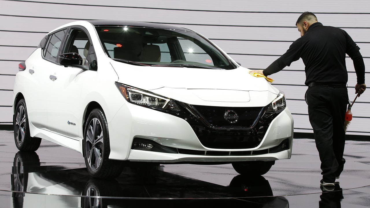 Nissan Motor Co has launched the new version of its all-electric vehicle Leaf in seven markets of the Asia-Pacific region. (Image: Reuters)