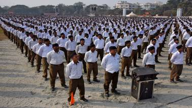 Meet with BJP chief, ministers not coordination meeting: RSS