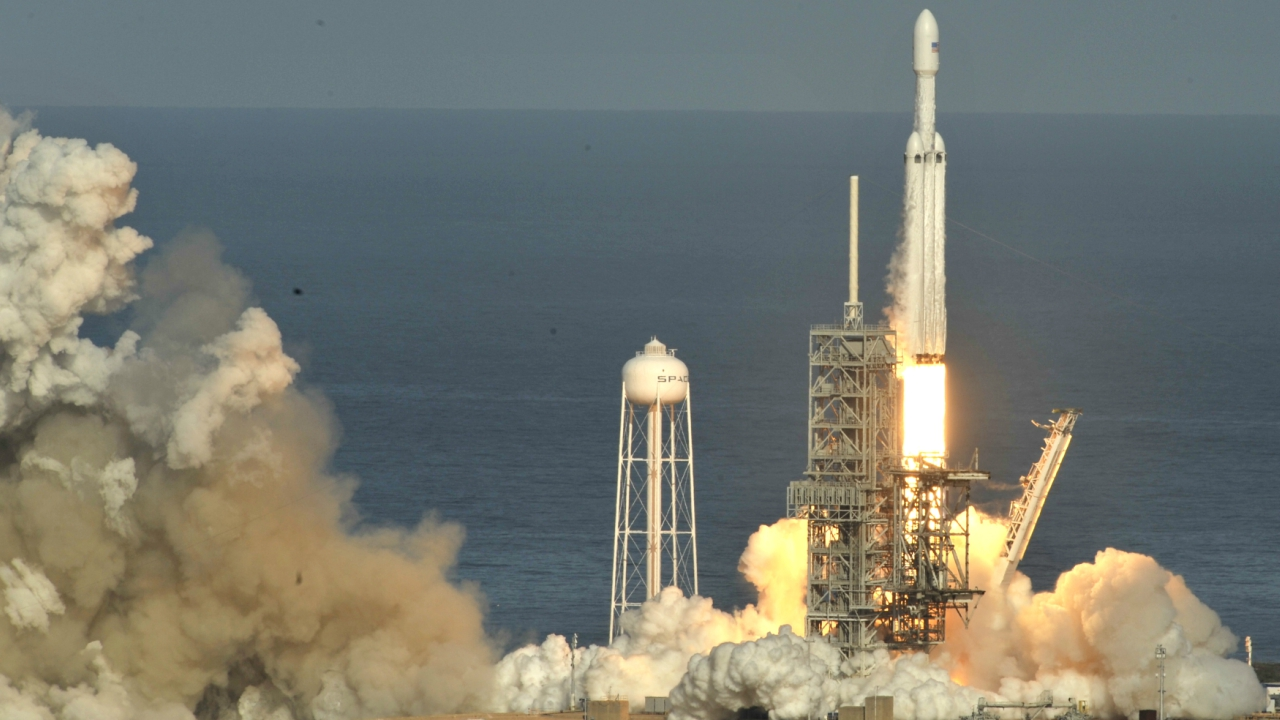 The centre booster rocket, which SpaceX had predicted was less likely to be salvaged, slammed into the Atlantic at about 300 miles per hour (483 kph), destroying two of its thrusters and showering the deck of the nearby drone landing vessel, Musk told a post-launch news conference.