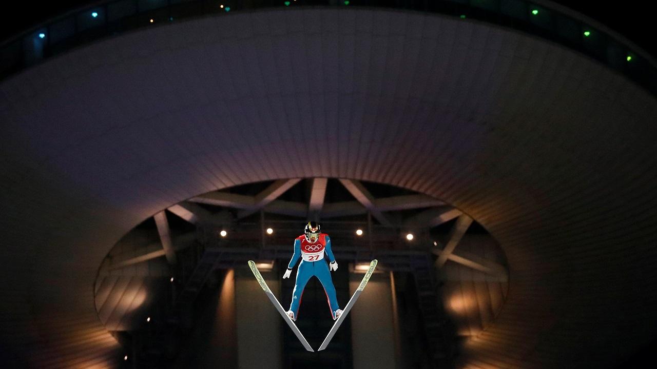 Ski Jumping – Pyeongchang 2018 Winter Olympics – Men's Normal Hill Individual Final – Alpensia Ski Jumping Centre - Pyeongchang, South Korea. (Reuters)