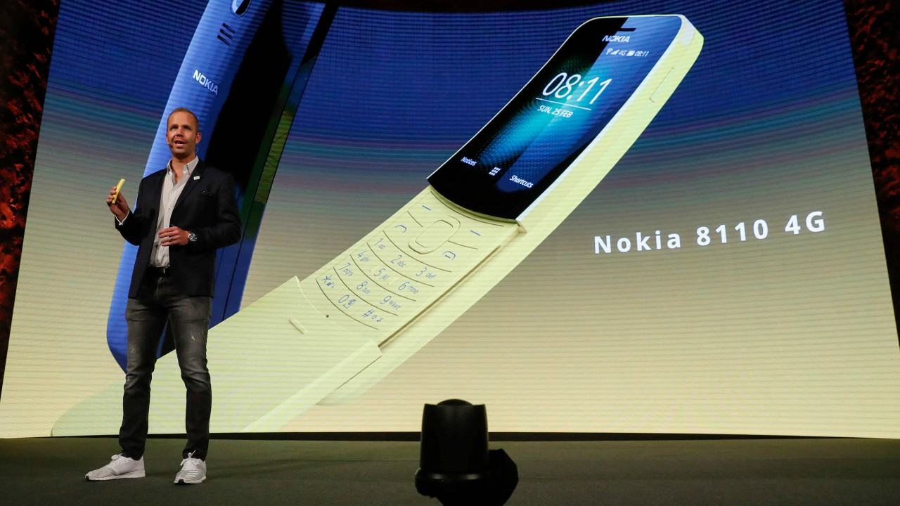 Nokia 8110 — The 'banana phone' is back with 25-day battery life, 4G capability