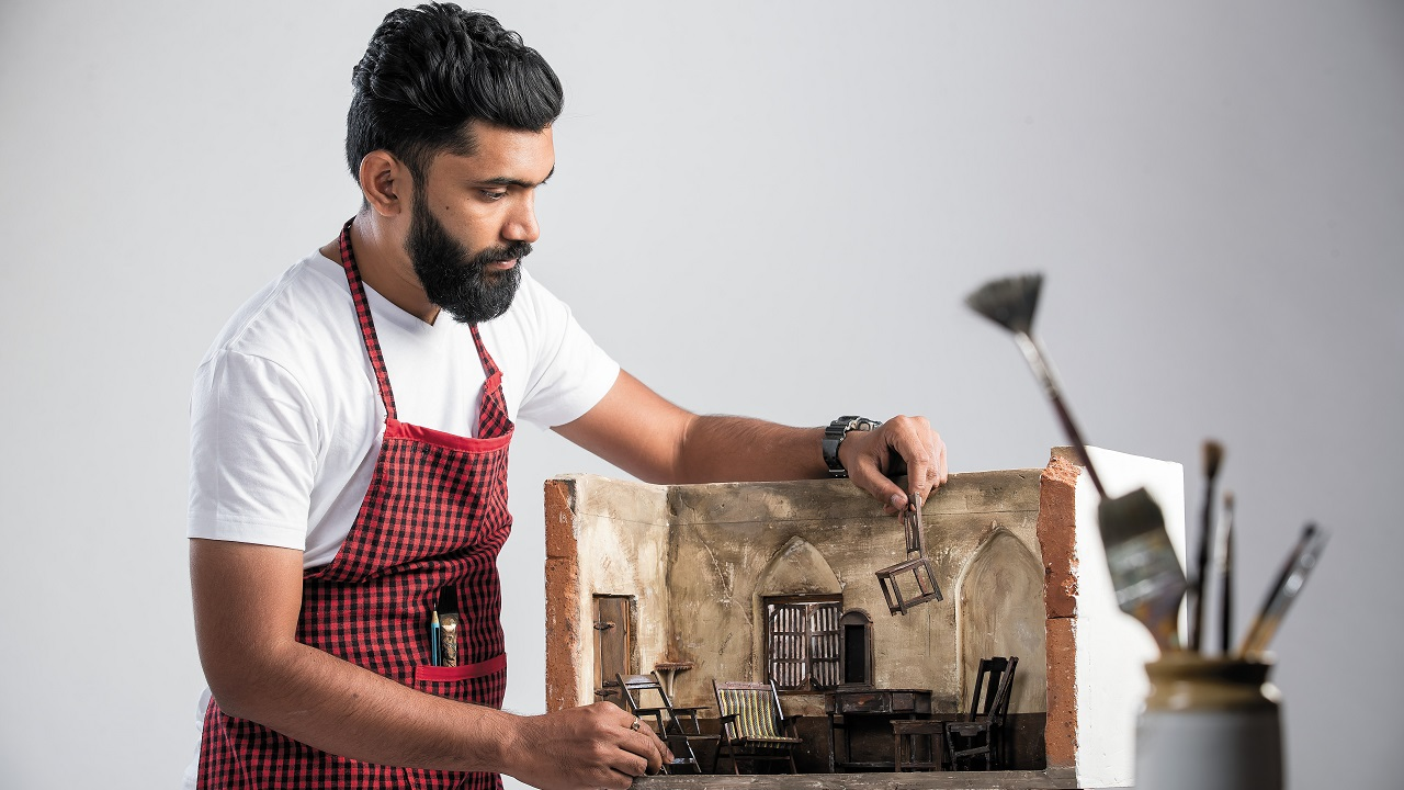 Art | Sahil Naik (26), Sculptor: The skills he uses are ones that he learnt first as a child. The complexity of his ideas translates into his sculptures in a nuanced yet effective manner.