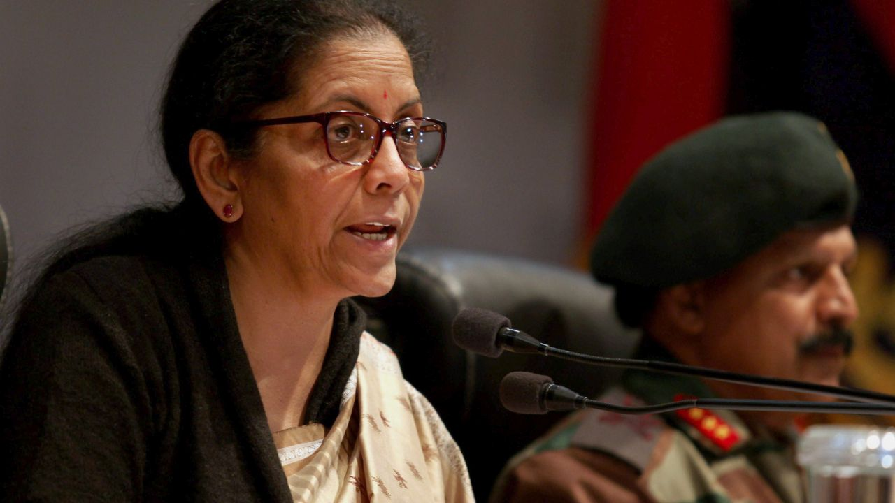 """Asked whether the government was sharing evidence with Pakistan, Sitharaman replied in the affirmative. """"Yes, all the evidences which have been collected will be compiled and definitely the evidences will be given as always to Pakistan. But Pakistan, inspite of being given dossiers after dossiers, has not taken any action,"""" she said in a PTI report. (PTI)"""