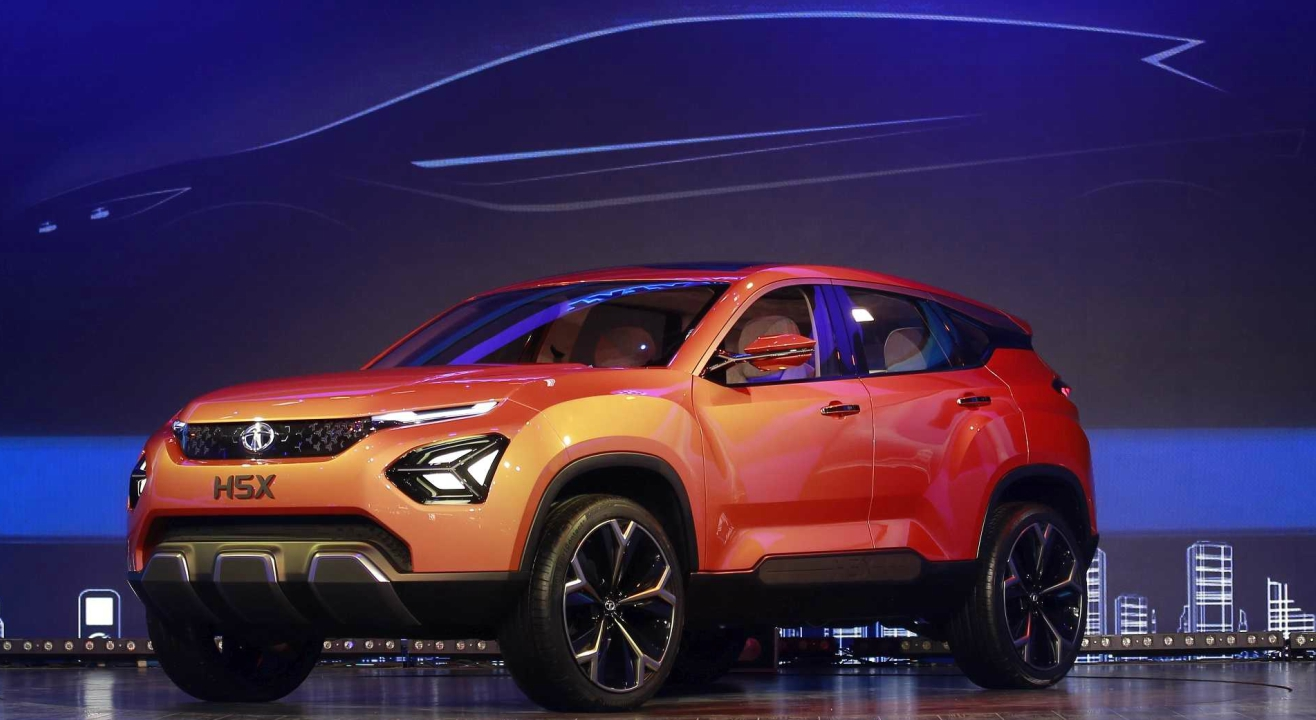 Tata H5X | The H5X by Tata Motors is the first from the Impact 2.0 design theme. This 5-seater, 5-door mid-size sports utility vehicle will debut next year.