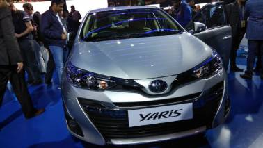 Auto Expo 2018: Toyota Motors unveils Yaris, bookings to start in April