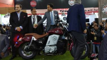 Auto Expo 2018: UM unveils three motorcycles including a geared electric cruiser bike