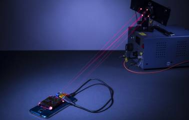 Indian-origin researchers develop technology to charge smartphones across the room using lasers