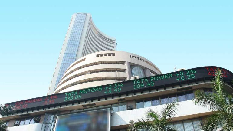 Markets recover some losses; Sensex down 407 points