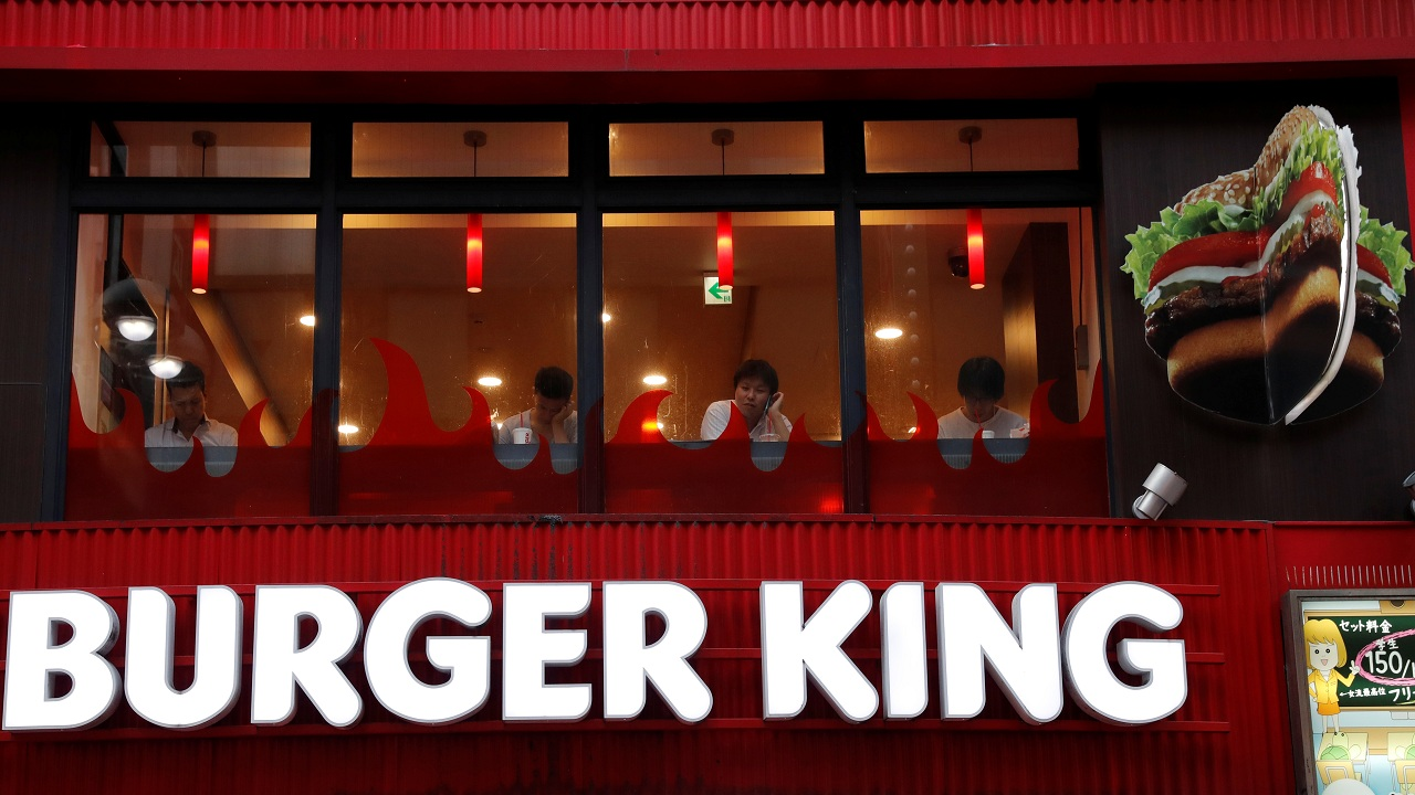 Answer: Burger King. (Image Courtesy: Reuters)