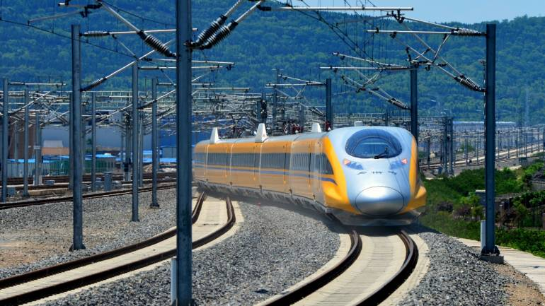 Bullet train | India's first bullet train between Ahmedabad and Mumbai will run at a maximum speed of 350 km per hour, covering the 508-km stretch in under three hours.