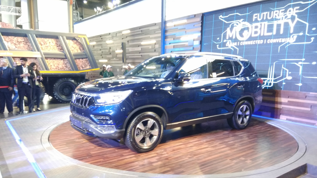 M&M unveiled the premium sports utility vehicle as Mahindra Rexton, doing away with the Ssangyong brand. (Moneycontrol)