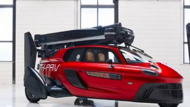 IN PICS: The world's first flying car that you can buy - only if you can wait long enough
