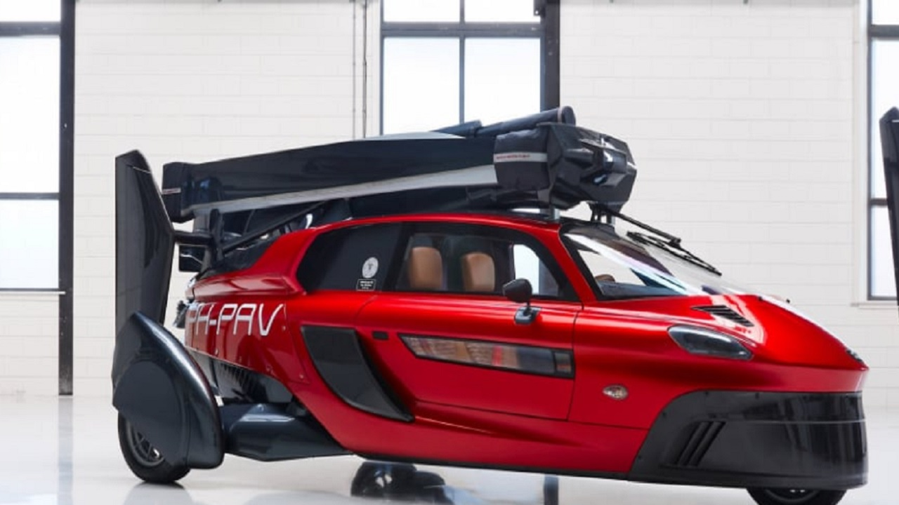 The world's first flying car that you can buy - only if you can wait long enough