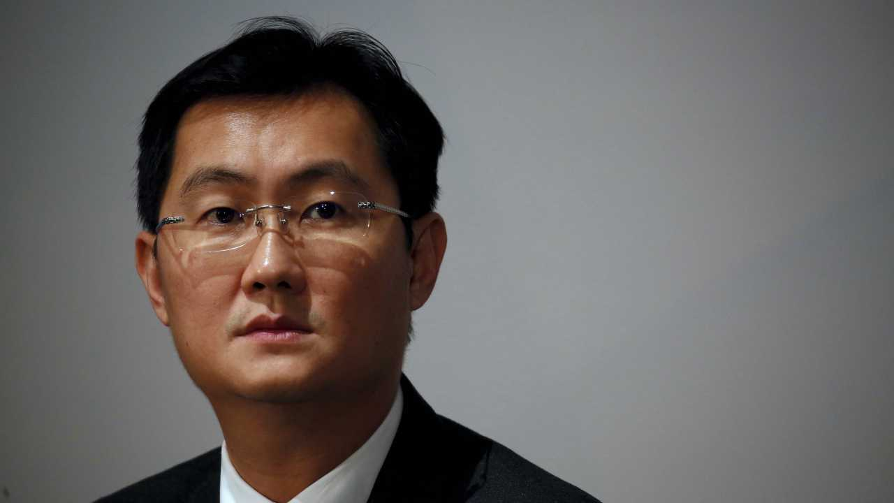 Greater China: Leading the list once again with 819 billionaires, China has added a whopping 210 billionaires to its list since last year. (Pictured) 'Pony' Ma Huateng, CEO of Tencent, is the wealthiest man in China. The report was released in February 2018. (Reuters)