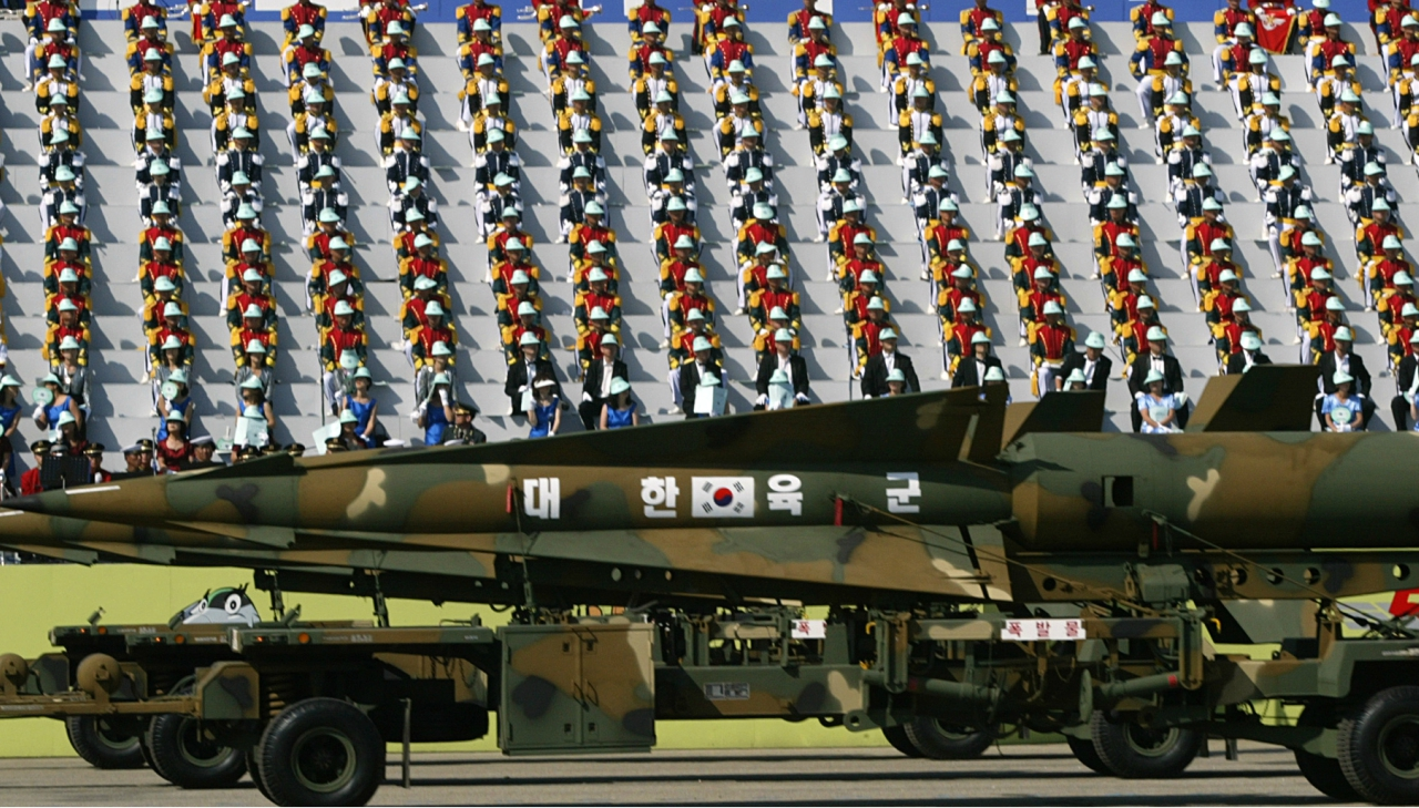 South Korea: The East Asian nation of South Korea stands 10th globally in defence spending, with an expenditure of USD 35.7 billion in 2017, according to International Institute of Strategic Studies' report, The Military Balance. (Reuters)