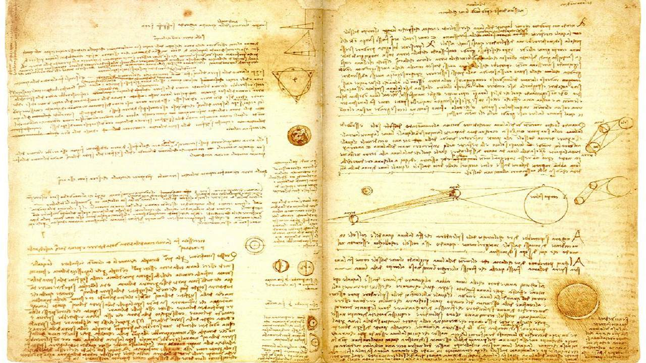 Codex Leicester (Book): USD 14.2 million | The manuscript dates back to 1620 and is one of the 11 surviving copies. It was last auctioned at Sotheby's in 2013 for the record sum, making it the most expensive manuscript in the world. (Image: Wikimedia Commons)