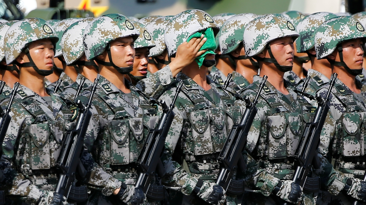 China: Securing the second spot in the world for defence spending, China spent USD 150.5 billion in 2017. (Reuters)